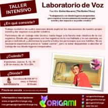 Laboratorio de Voz (taller intensivo)