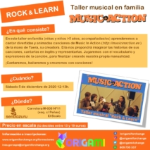 Taller musical familiar «Rock & Learn»